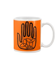 Mariah's Prologue One Man's Work Celtic Hand black Mug front