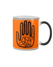 Mariah's Prologue One Man's Work Celtic Hand black Color Changing Mug color-changing-right