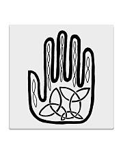 Mariah's Prologue One Man's Work Celtic Hand black Square Coaster thumbnail