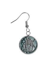 One Man's Work Celtic Hand Jewellery Circle Earrings thumbnail