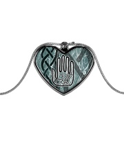 One Man's Work Celtic Hand Jewellery Metallic Heart Necklace tile