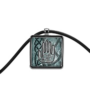 One Man's Work Celtic Hand Jewellery Cord Rectangle Necklace tile