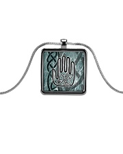 One Man's Work Celtic Hand Jewellery Metallic Rectangle Necklace thumbnail