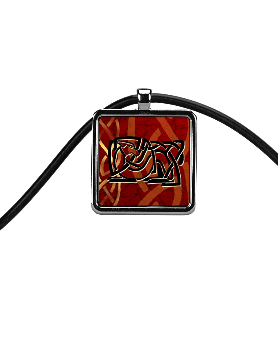 The Dog With No Name jewellery  Cord Rectangle Necklace
