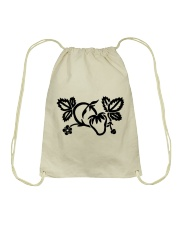Mariah's prologues: Strawberry Dreaming black Drawstring Bag thumbnail
