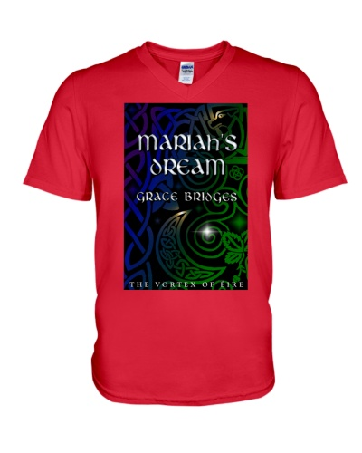 Mariah's Dream book cover V-neck T-shirt