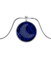 Celtic Moon Jewellery Metallic Circle Necklace thumbnail