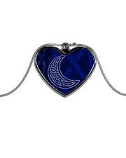 Celtic Moon Jewellery Metallic Heart Necklace front