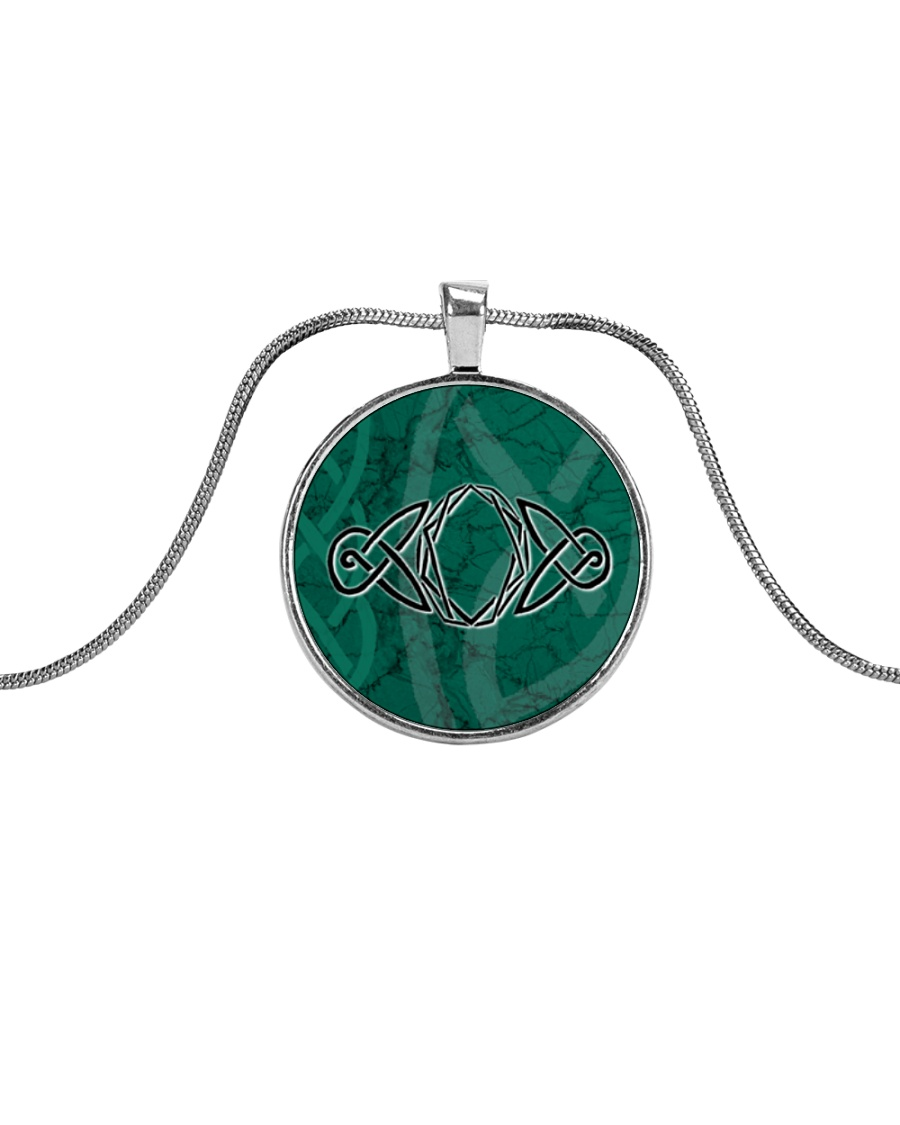 Mariah's prologues: The Fate Of The Ring jewellery Metallic Circle Necklace