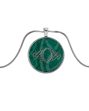 Mariah's prologues: The Fate Of The Ring jewellery Metallic Circle Necklace front