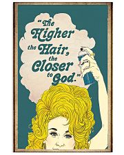 The higher the hair 11x17 Poster front
