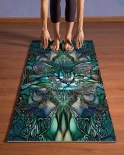 Cat  Yoga Mat 24x70 (vertical) aos-yoga-mat-lifestyle-26