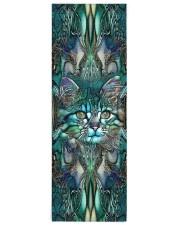 Cat  Yoga Mat 24x70 (vertical) front