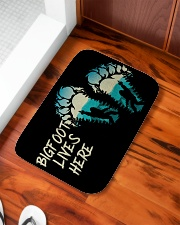 "Bigfoot lives here Bath Mat - 24"" x 17"" aos-accessory-bath-mat-24x17-lifestyle-front-04"