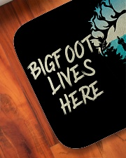 "Bigfoot lives here Bath Mat - 24"" x 17"" aos-accessory-bath-mat-24x17-lifestyle-front-05"