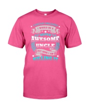 Super Awesome Uncle Classic T-Shirt front