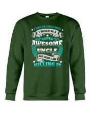Super Awesome Uncle Crewneck Sweatshirt thumbnail