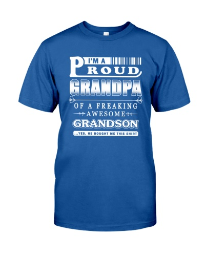 I'm a Proud Grandpa of a freaking Awesome Grandson