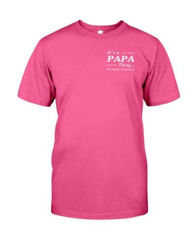 It's a PAPA thing