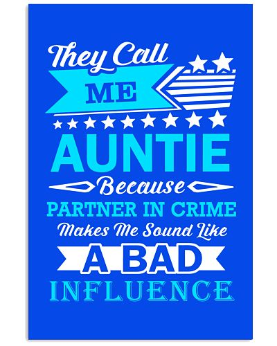 They call me AUNTIE