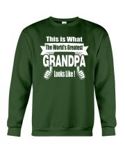 The world's Greatest Grandpa Crewneck Sweatshirt thumbnail