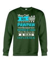 they call me PAWPAW Crewneck Sweatshirt thumbnail