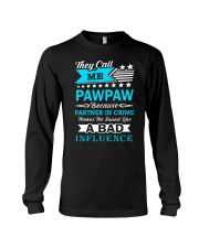 they call me PAWPAW Long Sleeve Tee thumbnail