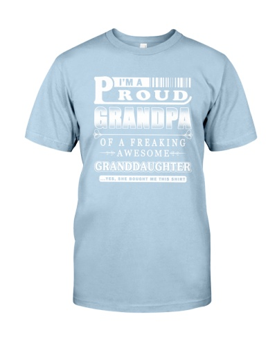 I'm a Proud Grandpa of an Awesome Granddaughter