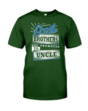 Great Brothers Get Promoted to UNCLE Classic T-Shirt front