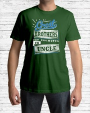 Great Brothers Get Promoted to UNCLE Classic T-Shirt lifestyle-mens-crewneck-front-1