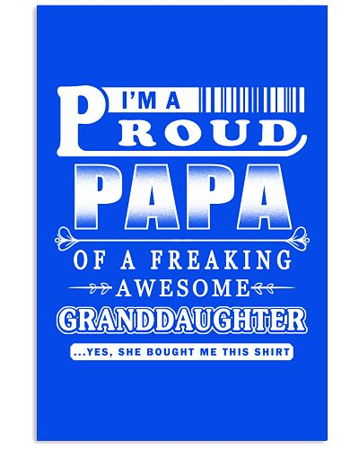 I'm a Proud Papa of an Awesome Granddaughter