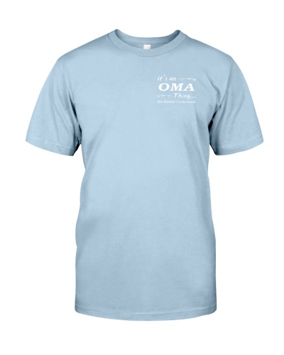 It's a Oma thing