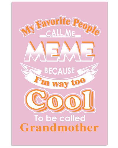 My favorite people call me MEME
