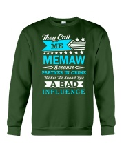 They call me MEMAW Crewneck Sweatshirt tile