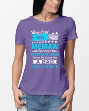 They call me MEMAW Premium Fit Ladies Tee lifestyle-women-crewneck-front-10