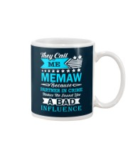They call me MEMAW Mug thumbnail