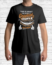 UNCLE - The Man The Myth The Legend Classic T-Shirt lifestyle-mens-crewneck-front-1