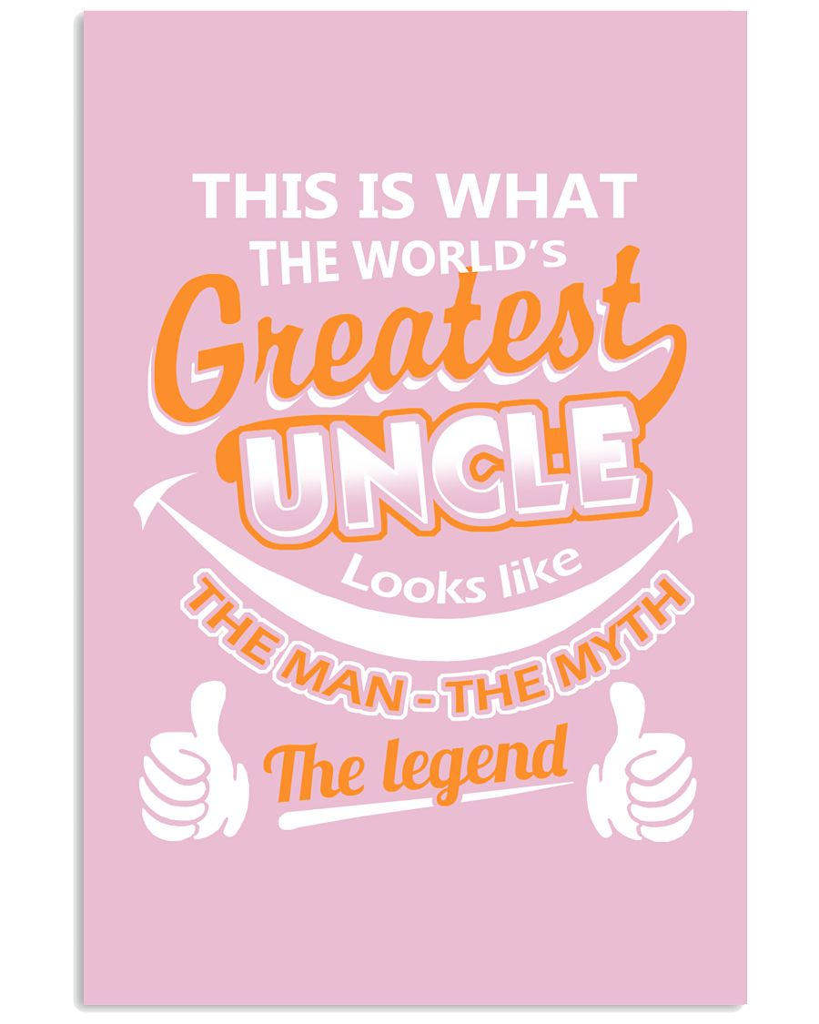 UNCLE - The Man The Myth The Legend 16x24 Poster