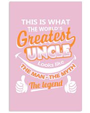 UNCLE - The Man The Myth The Legend 16x24 Poster front