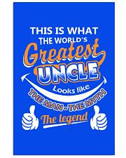 UNCLE - The Man The Myth The Legend 16x24 Poster thumbnail