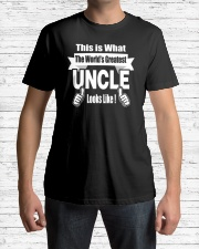 The world's Greatest Uncle Classic T-Shirt lifestyle-mens-crewneck-front-1