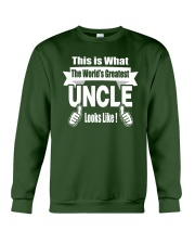 The world's Greatest Uncle Crewneck Sweatshirt thumbnail