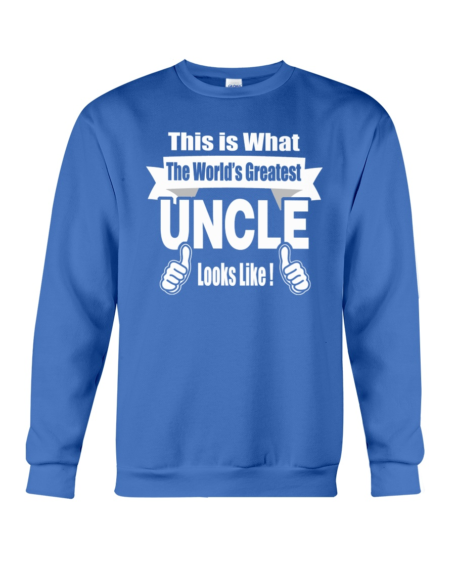 The world's Greatest Uncle Crewneck Sweatshirt