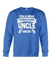 The world's Greatest Uncle Crewneck Sweatshirt front