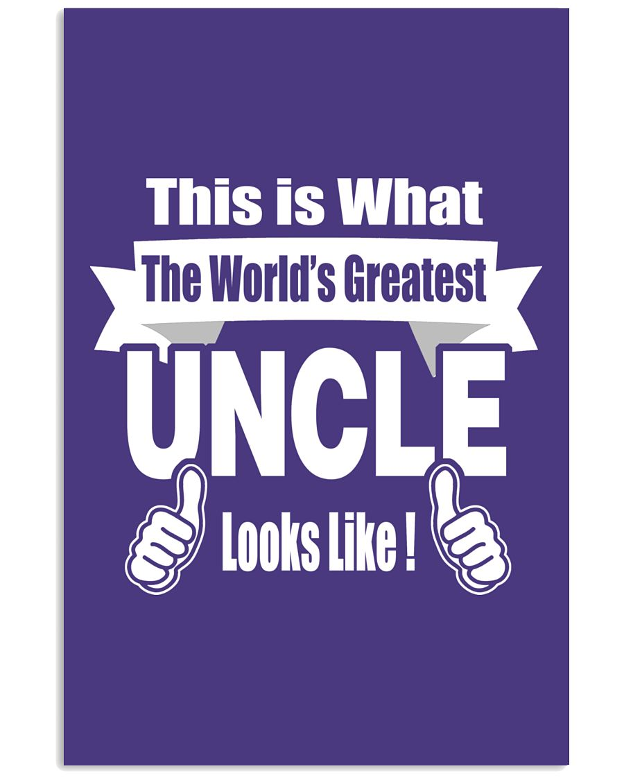 The world's Greatest Uncle 16x24 Poster
