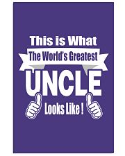 The world's Greatest Uncle 16x24 Poster front