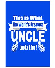 The world's Greatest Uncle 16x24 Poster thumbnail