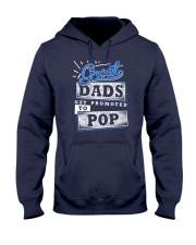 Great Dads Get Promoted to POP Hooded Sweatshirt thumbnail