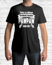 The world's Greatest Pawpaw Classic T-Shirt lifestyle-mens-crewneck-front-1