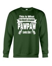The world's Greatest Pawpaw Crewneck Sweatshirt thumbnail
